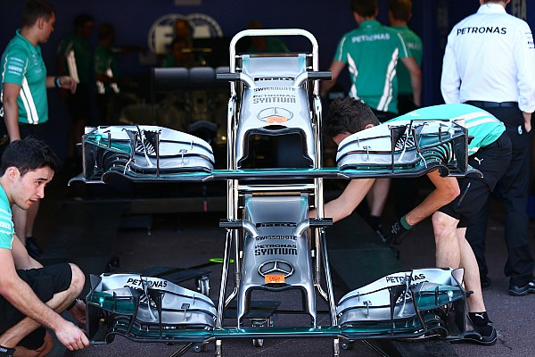 2015 nose rules benefit Mercedes, Ferrari