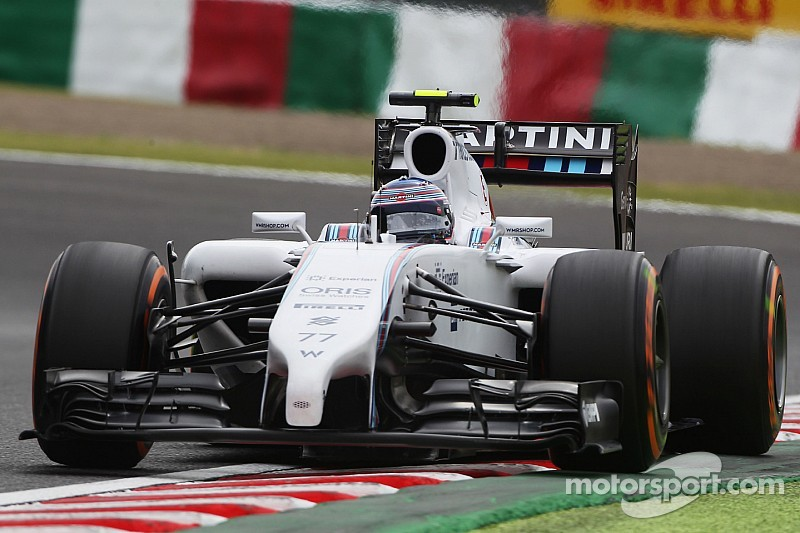 A strong qualifying session for Williams at Suzuka
