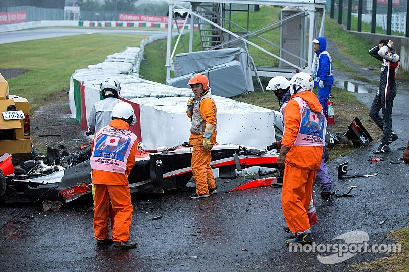 Jules Bianchi Transported To Hospital After Crash With