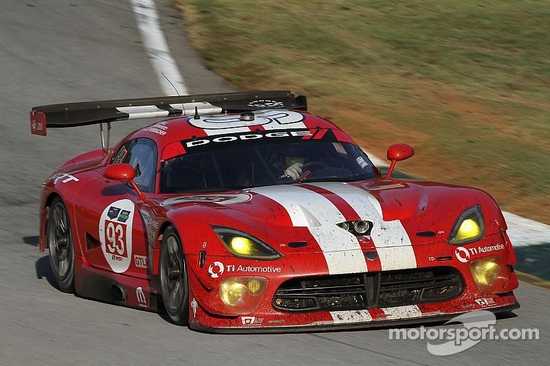 Chrysler wins TUDOR Championship, promptly axes SRT Viper racing program