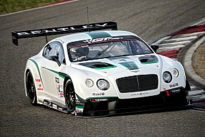 GT Race report Impressive Chinese debut for Bentley Continental GT3