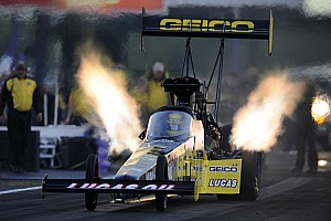 NHRA Preview Richie Crampton among the rookies who need luck in Las Vegas