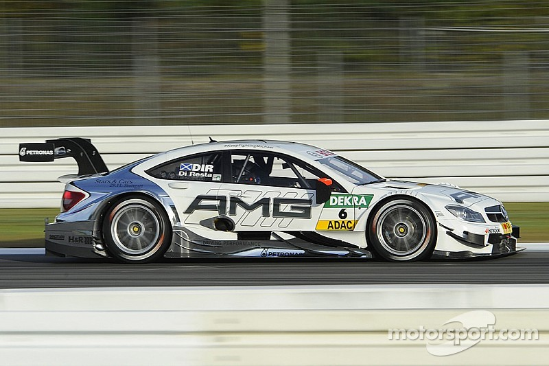 Paul Di Resta finishes fourth at Hockenheim in home race for Mercedes-Benz