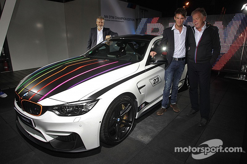 BMW M GmbH launches BMW M4 DTM Champion Edition
