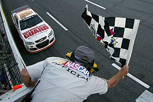 NASCAR Cup Race report Earnhardt holds on to collect maiden Martinsville victory