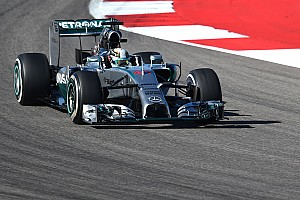 Formula 1 Practice report United States GP practice 2 results: Mercedes on top once again