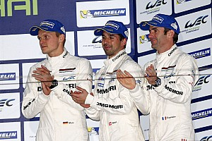 WEC Race report Third podium finish for the Porsche 919 Hybrid in its first season