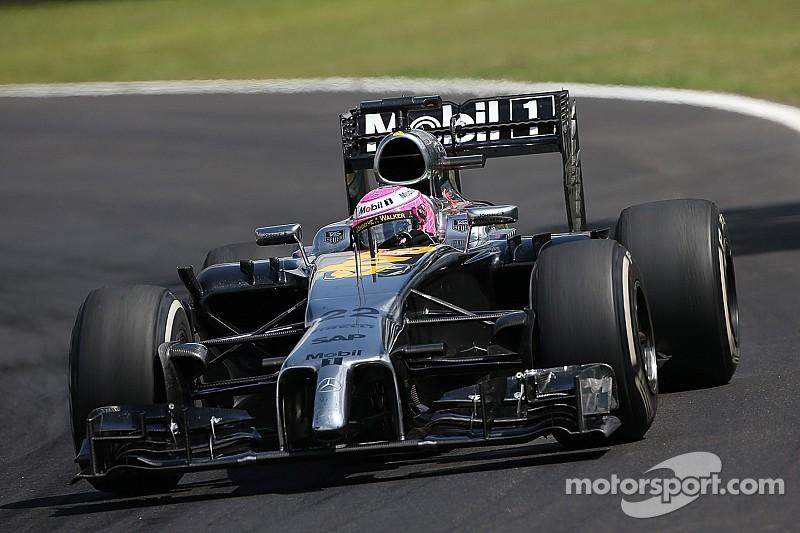 McLaren-Honda's interim car set for Silverstone filming day