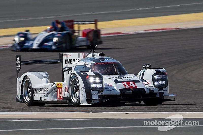 Porsche take pole in floodlit Bahrain