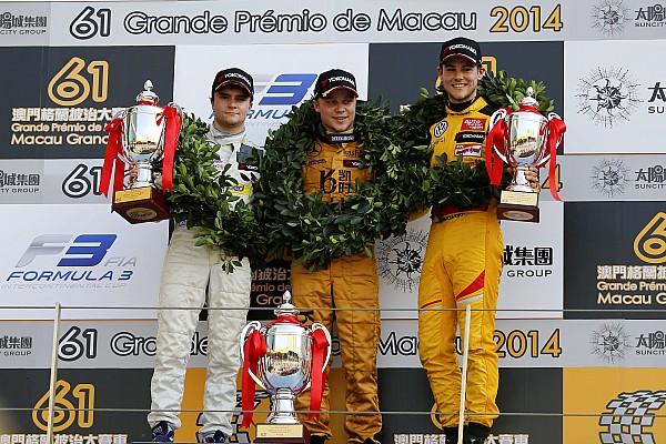 Rosenqvist continues winning ways at Macau