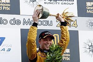 F3 Race report Rosenqvist victorious at Macau