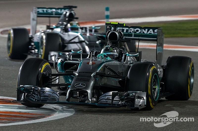 Mercedes stopped 'lousy' 2014 season - Ecclestone