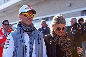 Formula 1 Breaking news Schumi 'reacting to external  stimuli,' cries at sound of family - report