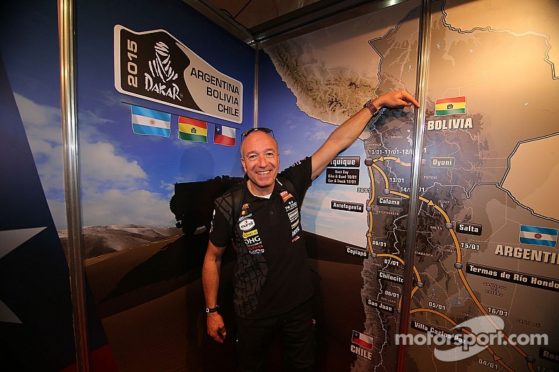 Dakar rally 2015 off to a start - Tim & Tom are on tour