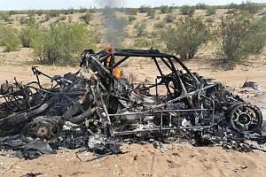 Dakar Breaking news Orlen Team Buggy burnt to a crisp at Dakar