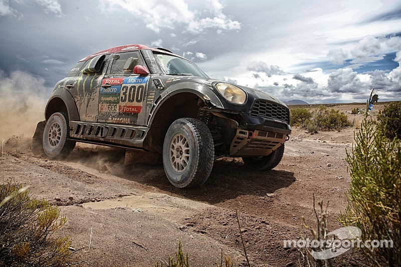 Roma rebounds with victory in ninth stage as Mini  sweeps podium