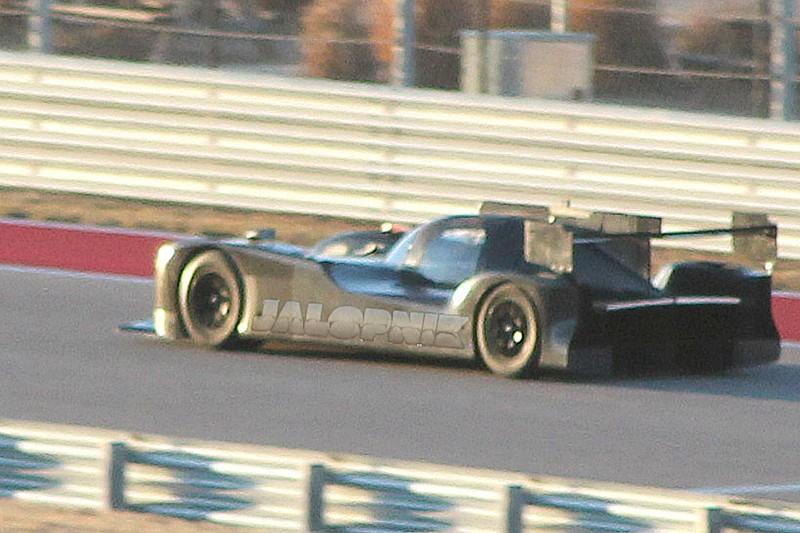 First look at Nissan LMP1 car