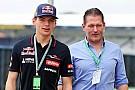 Jos Verstappen proud of young Max's performance in Jerez