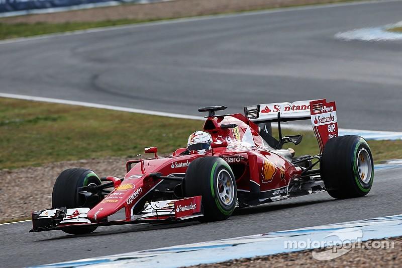 Ferrari: Second day of testing at Jerez