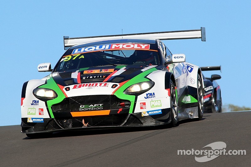 Double podium for Aston Martin in thrilling Bathurst 12 Hours
