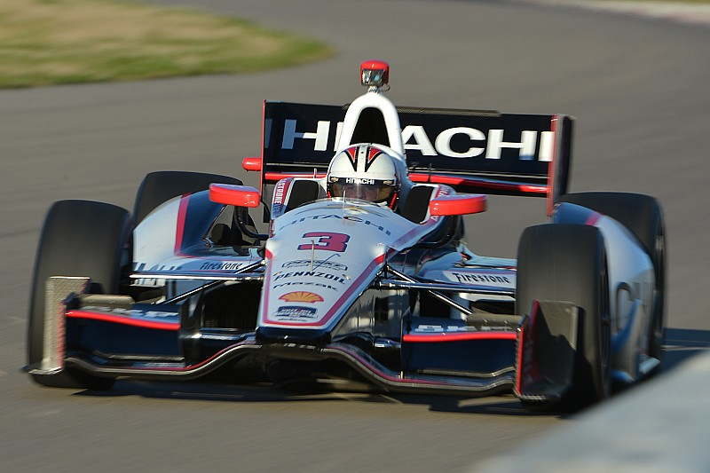 Helio Castroneves gives impression of NOLA Motorsports Park