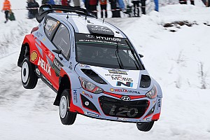 WRC Leg report Neuville grabs shock Rally Sweden lead for Hyundai