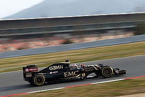 Formula 1 Testing report Maldonado topped the times on the first day of testing at Barcelona