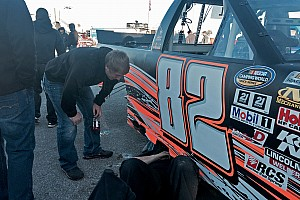 NASCAR Truck Race report The wheels comes off for Austin Hill in multi-truck wreck