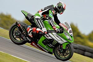 World Superbike Qualifying report Rea tops red-flagged Australian Superpole