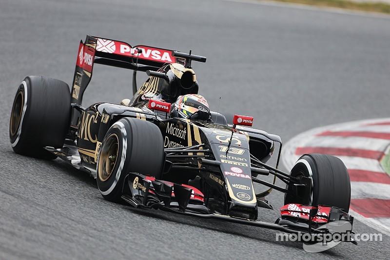 Maldonado back on top on day three in Barcelona