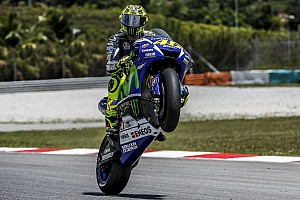 MotoGP Testing report Rossi leads opening day of MotoGP testing at Sepang