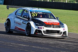 WTCC Qualifying report Champion López takes pole position for WTCC race of Argentina