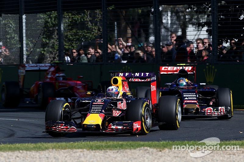 Despite Ricciardo points, a frustrating grand prix for Red Bull in Australia
