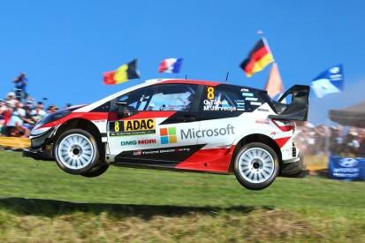 WRC Rallye Deutschland: Reifenschaden beendet packendes Duell