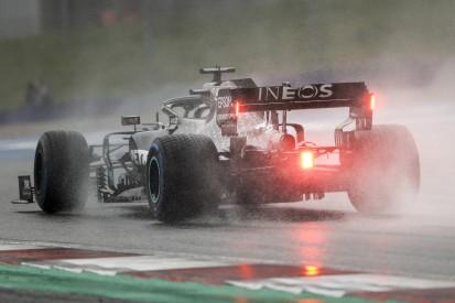 F1-Qualifying Spielberg 2020: Lewis Hamilton meistert den Regen