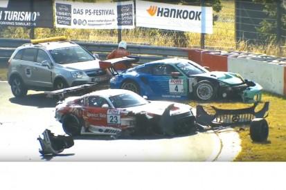 Unfall im Qualifying: Was bei VLN/NLS2 am Hohenrain passiert ist