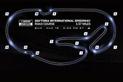 Daytona-Rundkurs mit neuer Schikane für NASCAR-Premiere