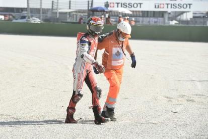 """Bagnaia rätselt: Ersten MotoGP-Sieg durch """"unglaublichen"""" Sturz verloren"""