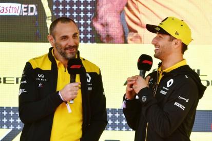 Abiteboul: Renault-Fortschritte zeigen, warum er von Ricciardo enttäuscht war