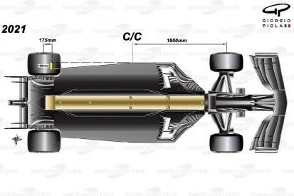 Wie die Formel 1 für 2021 noch einmal den Abtrieb verringert