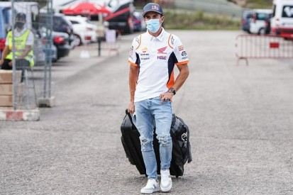 Überraschender Besuch: Marc Marquez taucht im Barcelona-Paddock auf