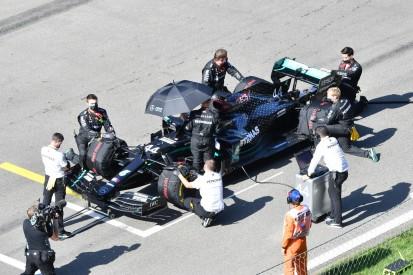 Kritik an Zeitstrafen: Warum Lewis Hamilton und nicht Leclerc?
