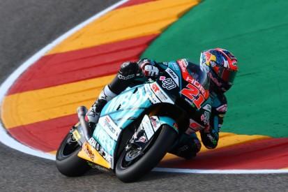 Moto2 Aragon FT3: Di Giannantonio mit Streckenrekord, Schrötter in Q1