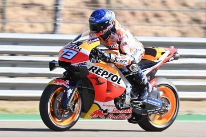 MotoGP Aragon 2 FT1: Alex Marquez trotz Sturz Schnellster am Vormittag