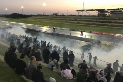 Schießerei an der Rennstrecke: Polizei bricht Dragster-Event ab!