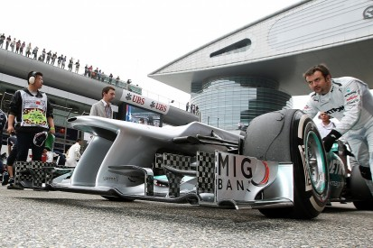 Banned: The Mercedes F1 team's double DRS device
