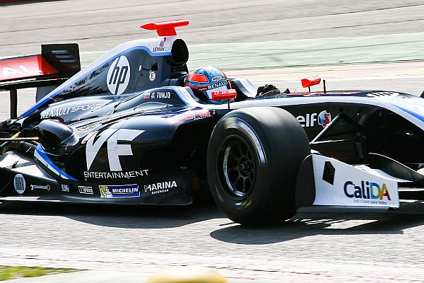 Оскар Тунхо переходит в GP3