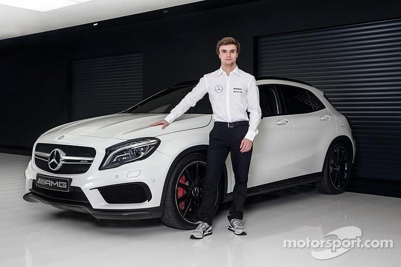 DTM - Mercedes lance Lucas Auer