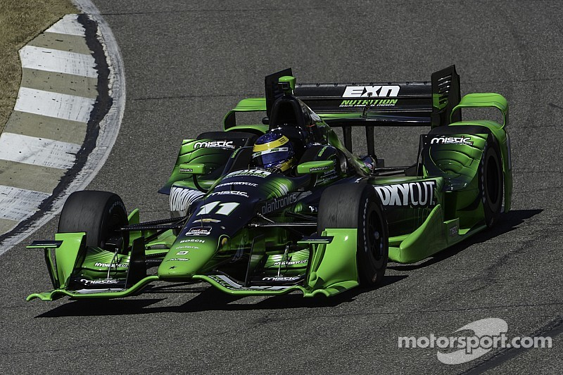 IndyCar - Caméra embarquée dans trois voitures 2015