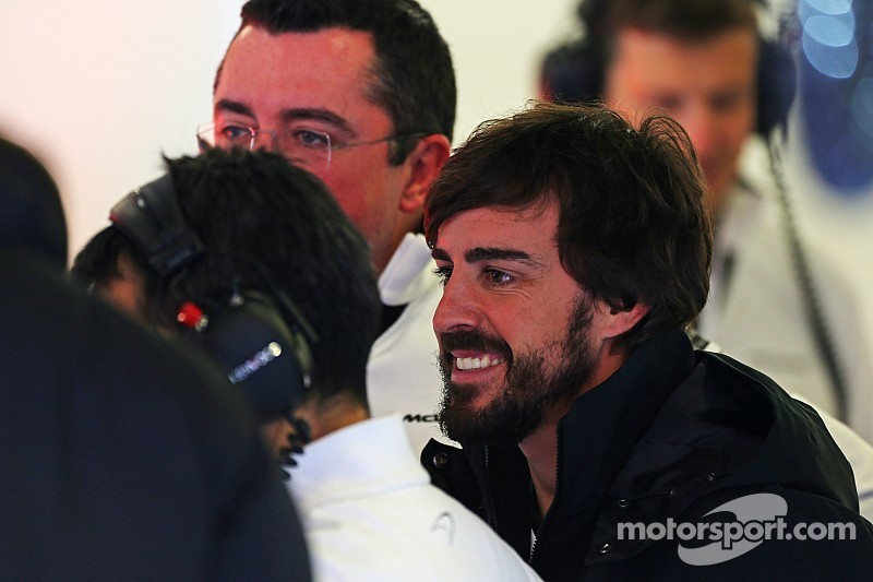 "Alonso feeling ""ready"" but expects tough weekend"